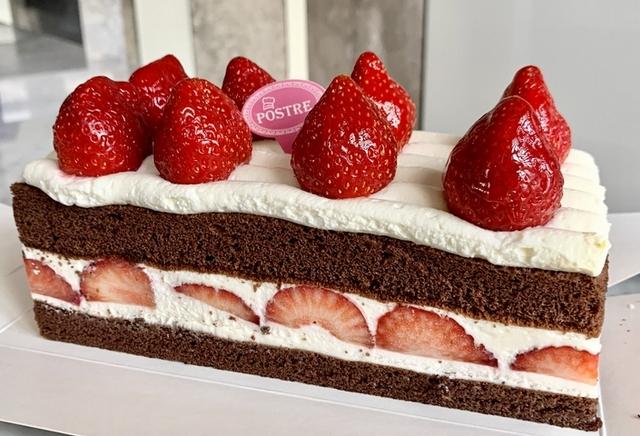 巧克力草莓生乳蛋糕 490元