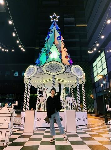 台南新天地:麋鹿耶誕樹