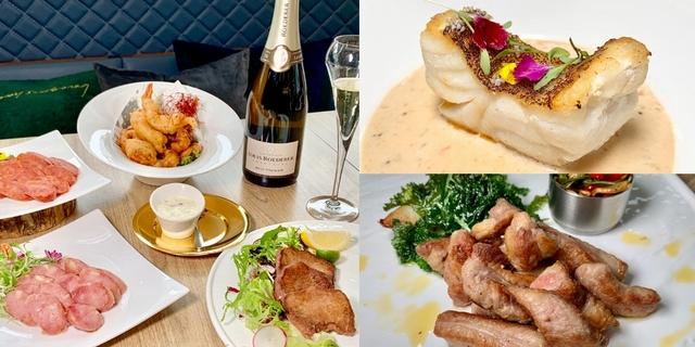 海陸主餐點到飽!「享香檳餐酒館」3道新主餐「伊比利肋間肉、美國肩胛小菲力」饕客必點,加碼3款下酒菜推薦