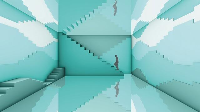 夢幻冰河綠的無盡階梯