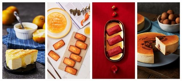14. 起士公爵 鳳梨金磚費雪、草莓紅鑽費雪禮盒 960元、1,040元