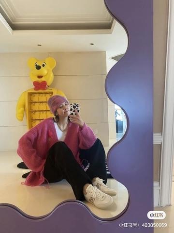 紫色Curvy Mirror超級吸睛