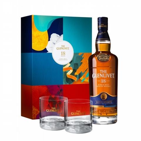 4. 格蘭利威 18 年單一麥芽蘇格蘭威士忌禮盒 2,688元