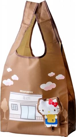 嵜本SAKImoto BakeryXHello Kitty聯名環保提袋(開)