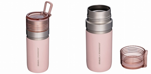 3. STANLEY煙粉紅GO不鏽鋼杯 1,350元