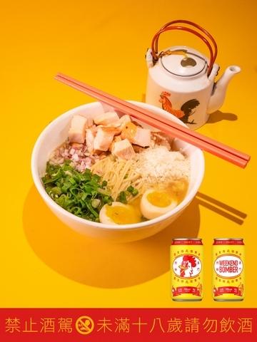 5. 聯名必吃:週末炸虎雞湯拉麵