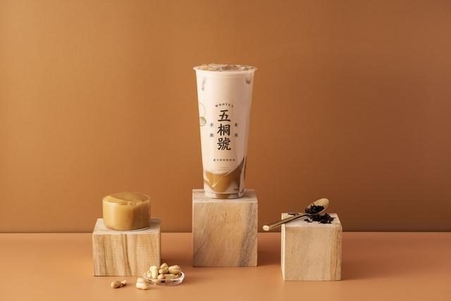 米漿凍奶茶 M 55 元  L 65元、米漿凍拿鐵 M 65 元  L 75元