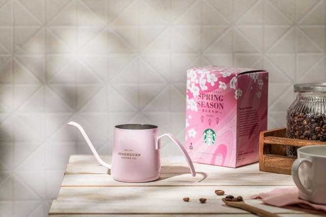 必買推薦5:粉紅小型手沖壺