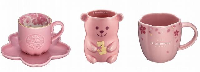 必買推薦1:暖細粉色 + 櫻花、小熊造型