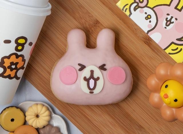 粉紅兔兔甜甜圈 80元