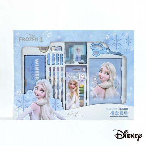 冰雪奇緣系列-書包文具禮盒 16 件組(活動價 999 元,原價 1,624 元)