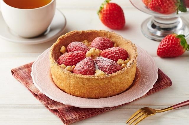 必吃新品4:草莓果漾起士塔  特價99元(2/20~21,原價109元)