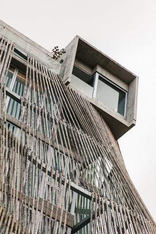 亮點1:宛若山林的有機體建築