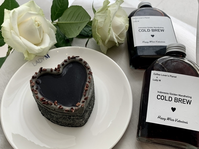 Lady M X COFFEE LOVER's PLANET 白色情人節聯名限定組合