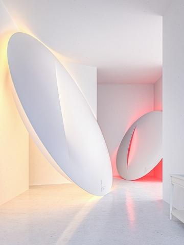 2. Sabine Marcelis - LED裝飾燈 1,090、1,790元(兩種尺寸)