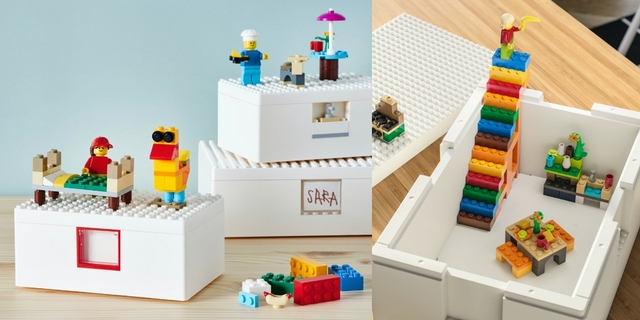 IKEA X LEGO「BYGGLEK」限量樂高系列開賣!結合收納與遊戲的居家好物,夯到每人只能限購3件