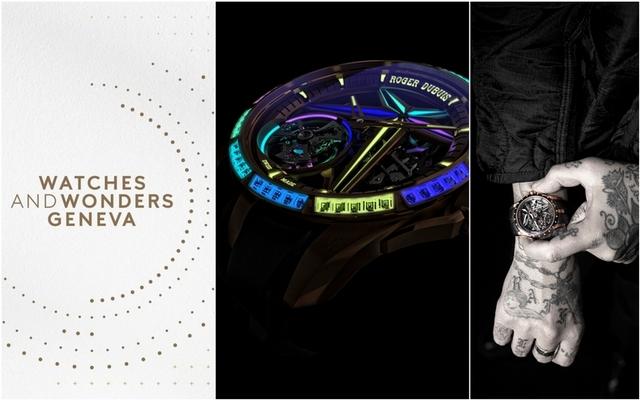 2021鐘錶與奇蹟 / Roger Dubuis霓虹耍「芯」機 鏤空陀飛輪再精修