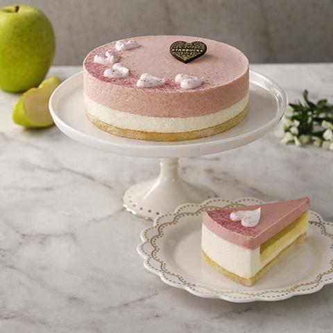星巴克 紅心芭樂青蘋蛋糕 900元(6吋)