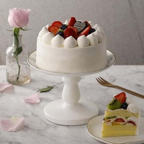 星巴克 水果布蕾香緹蛋糕 950元(6吋)