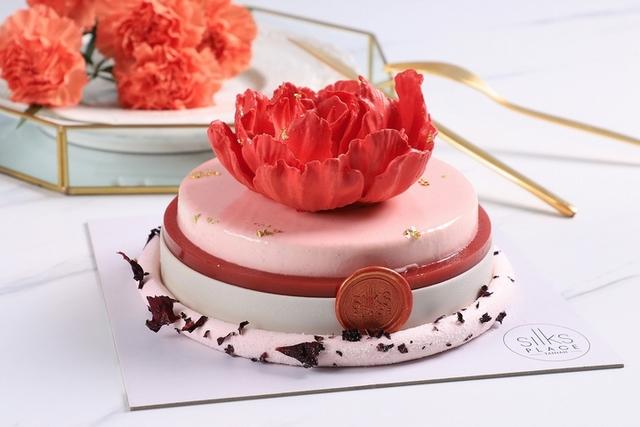 台南晶英酒店 媽咪苺梅蛋糕 1,250元(6吋)