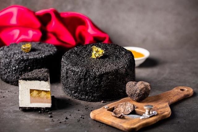 西華飯店 松露蜜心冰淇淋蛋糕 880元(4吋)