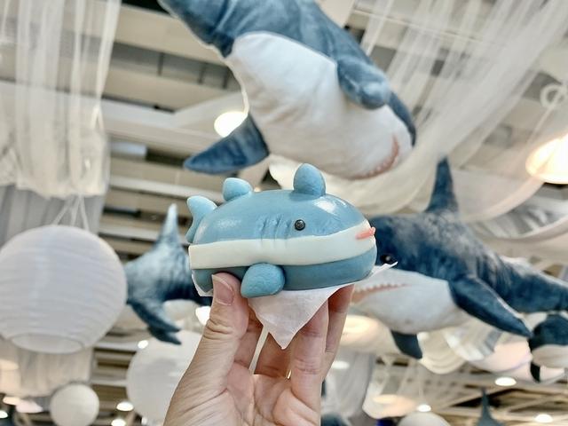 芝麻鯊鯊包 35元