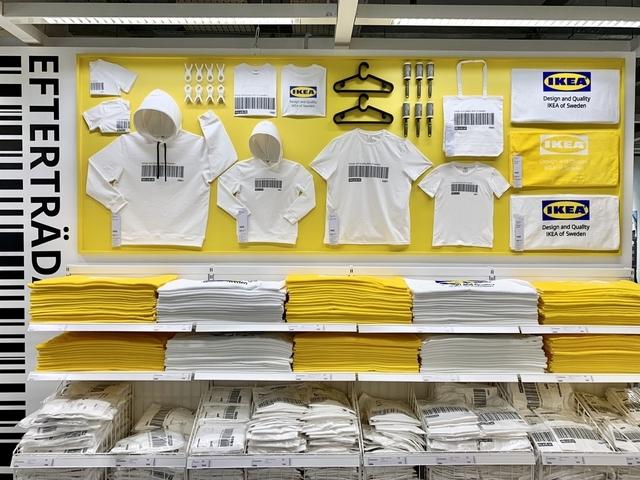 只有IKEA內湖店買得到!全台獨家限量條碼T恤與浴巾