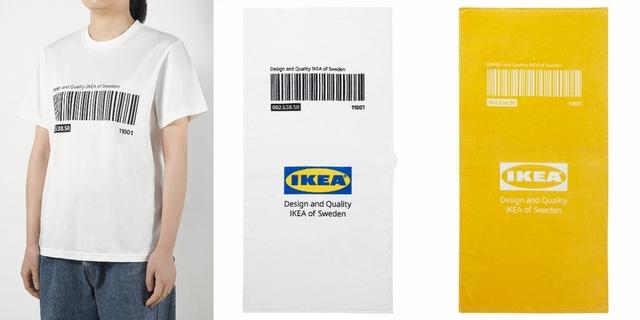EFTERTRÄDA系列T恤 399元、孩童尺寸條碼T 299元、浴巾 449元