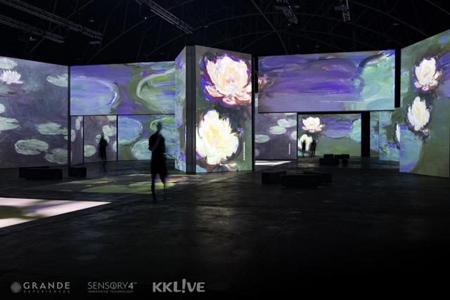 《印象‧莫內-光影體驗展》6月松菸開展!集結18位藝術家、2000多幅影像打造沉浸式體驗,彷彿置身名畫世界太壯觀