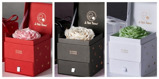 1. FLOWER FLOWER花的 - 小王子聯名玫瑰珠寶盒 2,580元