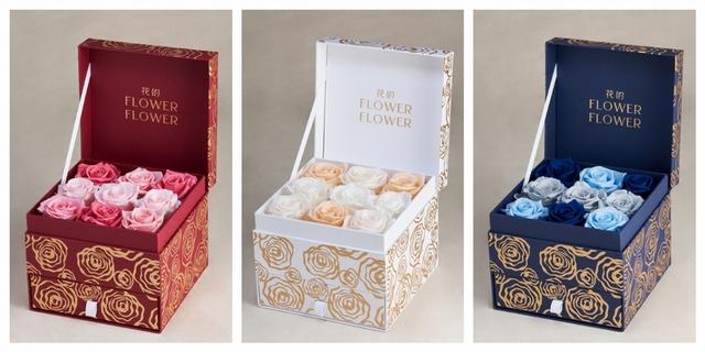 哥倫比亞永恆玫瑰花花禮 3,800元