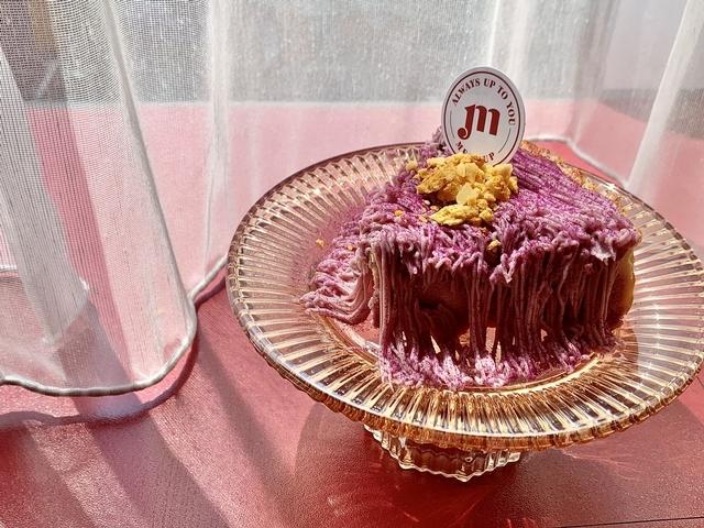 芋頭巴斯克蛋糕 250元
