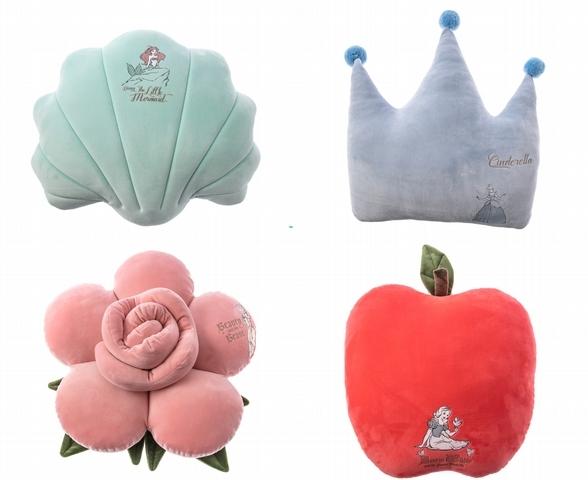 迪士尼公主造型抱枕 特價699元/件