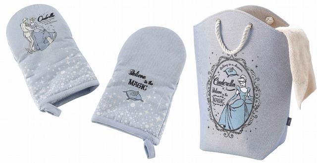 灰姑娘隔熱手套2入組 特價599元、灰姑娘提袋型洗衣籃 特價499元(42L)
