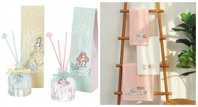 迪士尼公主室內擴香 特價699元/件、白雪公主印花毛巾浴巾組 特價1,380元