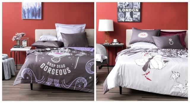 烏蘇拉純棉涼被單人 特價1,480元、庫伊拉純棉床被四件組雙人 特價4,280元