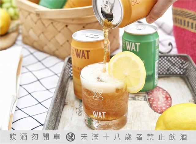 WAT 檀島凍檸茶氣泡雞尾酒