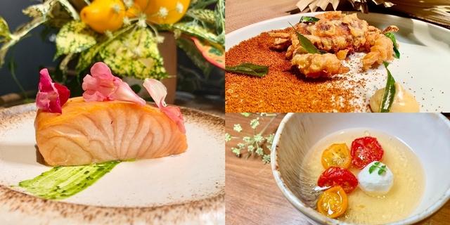 草果布朗尼、粉紅胡椒鮭魚太驚豔!金普頓大安酒店「The Tavernist」晚間套餐主打香料+海陸食材,宛如舌尖環遊世界
