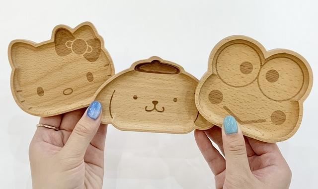 Kitty、布丁狗、大眼蛙造型飾品盤