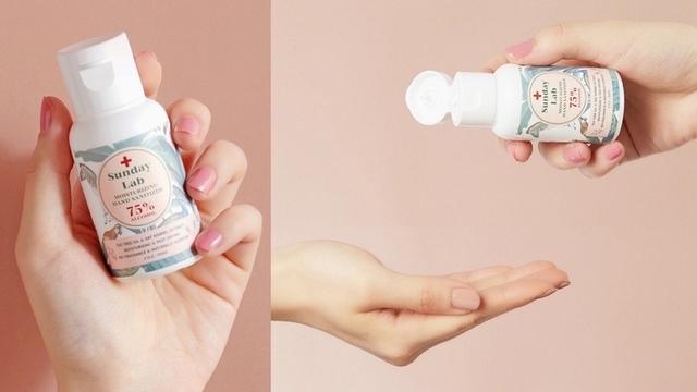 讓每次洗手都充滿儀式感,以全素植萃為配方的乾洗手品牌Sunday Lab,雙手潔淨又柔嫩