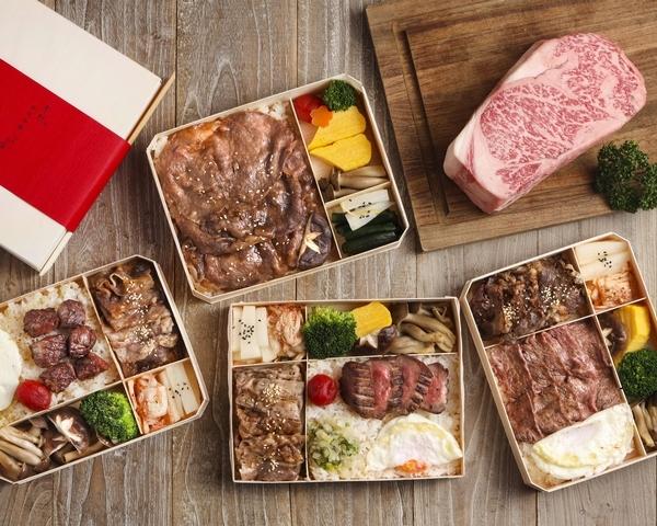 樂軒和牛專門店主打 7 種夢幻和牛雙主餐便當及 1 款伊比利豬與雞腿便當,奢華風味在家就能享用。