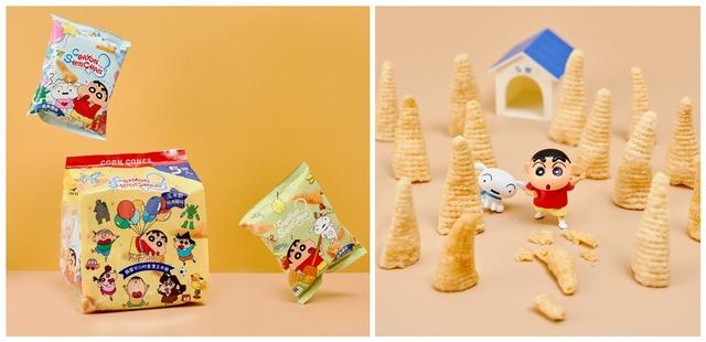 加碼推薦:全新口味「蠟筆小新玉米餅」