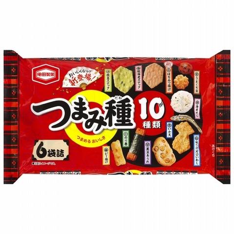Top 4 龜田十種類米果點心