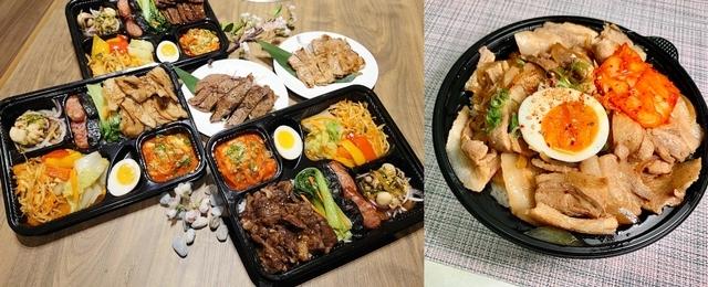 2. 本格燒肉、燒肉Smile:重量級燒肉便當219元、加購69元就能吃到厚切板腱
