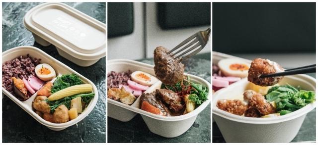 13. 貳房苑:3款融合季節、台味的料理餐盒