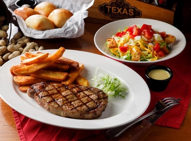 10. Texas roadhouse:外帶自取75折優惠