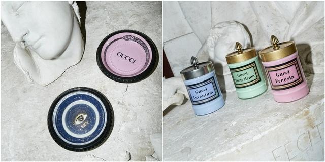 GUCCI全新家飾系列浪漫破表!香氛蠟燭光是包裝又要讓香迷暴動啦!