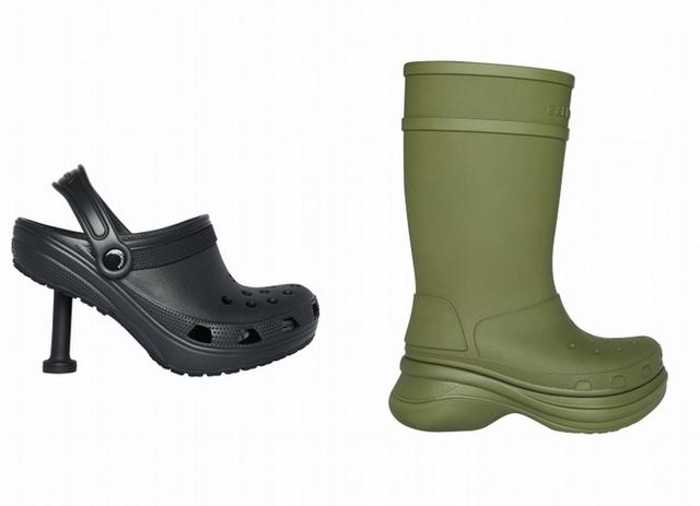 焦點3:Balenciaga Crocs 2.0鞋款誕生