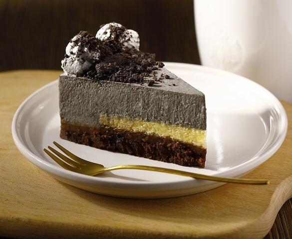 圖為:芝麻巧克力蛋糕