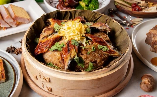 台南老爺行旅:蒲燒鰻米糕